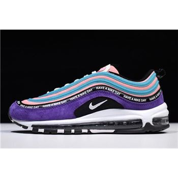 Nike Air Max 97 Have a Nike Day Purple Green Pink White Black BQ9130-400