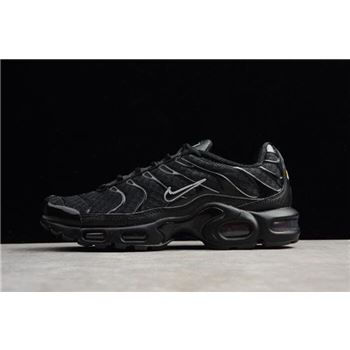 Men's Nike Air Max Plus Black/Metallic Silver 852630-015