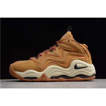Nike Air Pippen 1 Wheat Desert Ochre/Velvet Brown-Fossil-Total Orange 325001-700