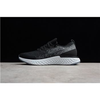 Men's Nike Epic React Flyknit Deep Green GoldBlack Blue AQ0067 301