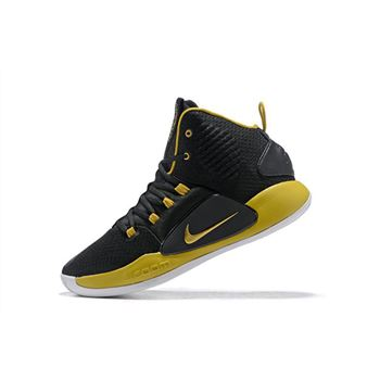 2018 Nike Hyperdunk X Black/Metallic Gold-White Men's Size Free Shipping