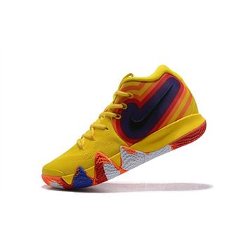 Nike Kyrie 4 70s Yellow Multicolor 943807-700