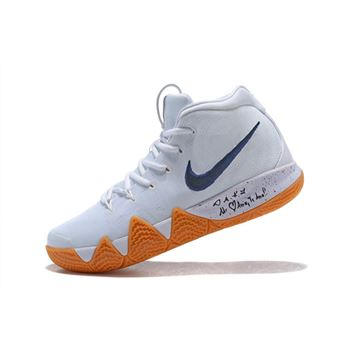 Nike Kyrie 4 Uncle Drew White Gum Men's Basketball Shoes AQ8623-001
