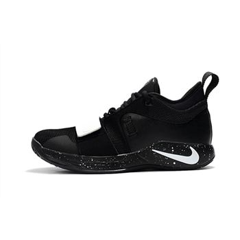 New Nike PG 2.5 Black/White Paul George Shoes Free Shipping