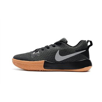 Nike Zoom Live II EP Black/Gum Light Brown-Reflect Silver Men's Basketball Shoes