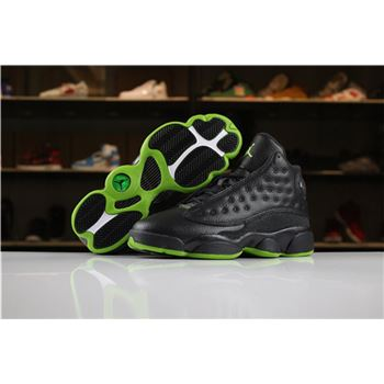 Women's Air Jordan 13 Altitude Black/Altitude Green For Sale