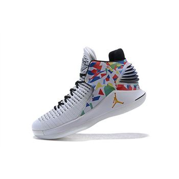 Air Jordan 32 XXXII White/Multi-Color For Sale