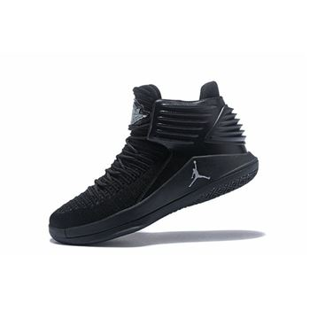 New Air Jordan 32 All Black Men's Basketball Shoes