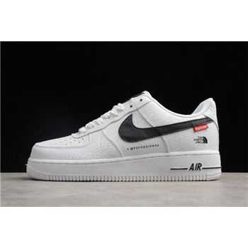 Nike Air Force 1 '07 x Supreme x The North Face White/Black AR3066-100